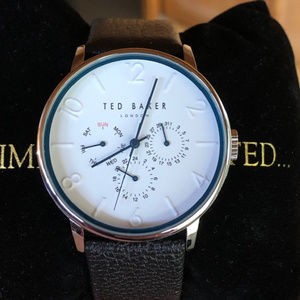 Ted Baker NWOT Mens Multifunction White Dial Watch